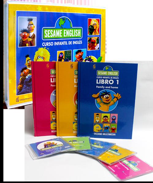 Sesame  English - curso infantil de inglés 2