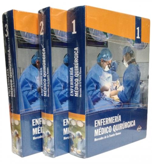 Enfermería Médico Quirúrgico 3 Tomos