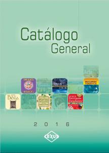 Portada Catalogo 2016
