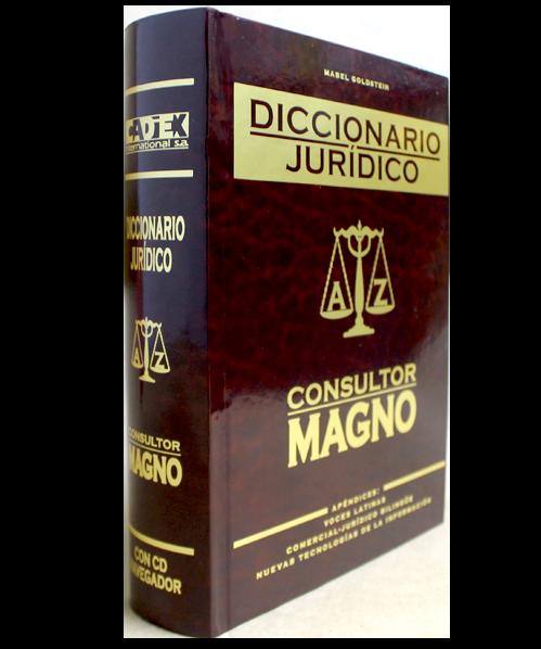 Diccionario Jurídico Consultor Magno