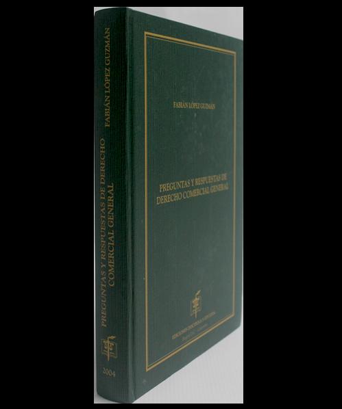 Preguntas y Respuestas de Derecho Comercial General